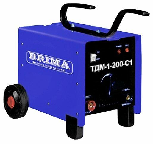 Сварочный аппарат BRIMA ТДМ1-200-С1 (MMA)