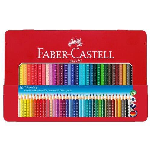 Faber-Castell Цветные карандаши Grip 2001 36 цветов (112435) faber castell ластик grip 2001 цвет синий