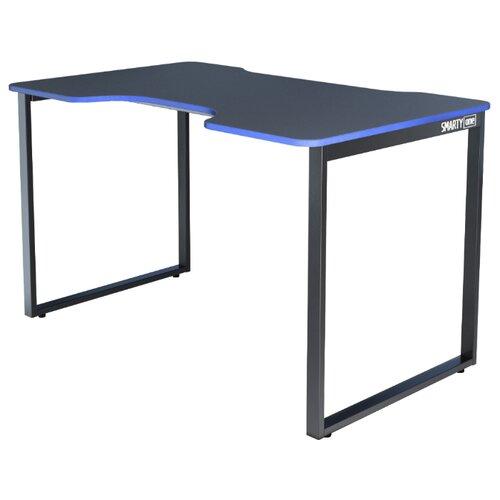 Игровой стол Gravitonus Smarty One, 120х75 см, цвет: черный каркас/черно-синий