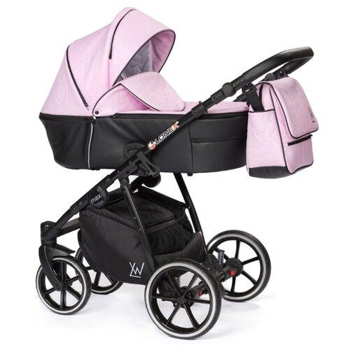 Универсальная коляска Lonex Pax (2 в 1) pink