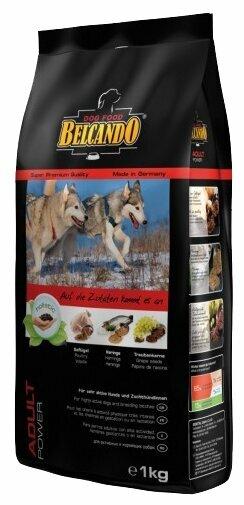 Корм для собак Belcando Adult Power для спортивных, рабочих, вольерных и кормящих собак (1 кг)