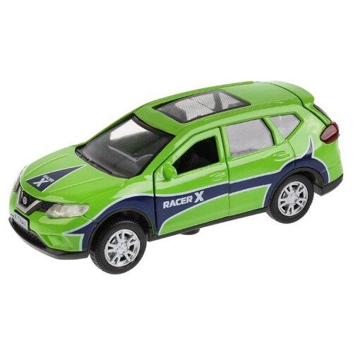 Купить Легковой автомобиль ТЕХНОПАРК Nissan X-Trail Sport (X-TRAIL-S) 12 см зеленый, Машинки и техника