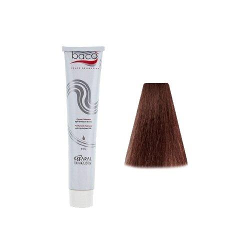Kaaral Baco Color крем-краска для волос, 6.32 темный золотисто-фиолетовый блондин, 100 мл