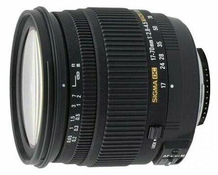 Объектив Sigma AF 17-70mm f/2.8-4.5 DC MACRO Canon EF-S