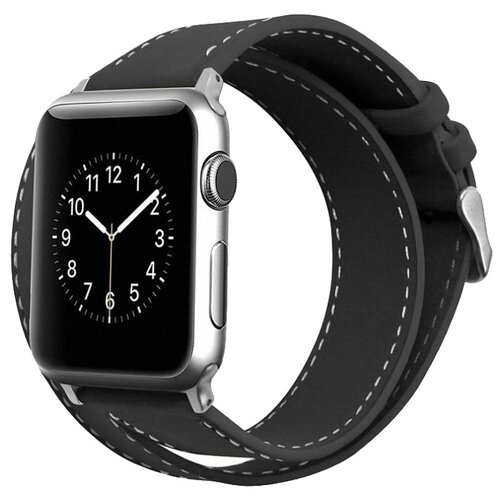 Cozistyle Double Tour Leather Band for Apple Watch 42/44mm черный ремешок cozistyle double tour leather watch band cdlb010 black