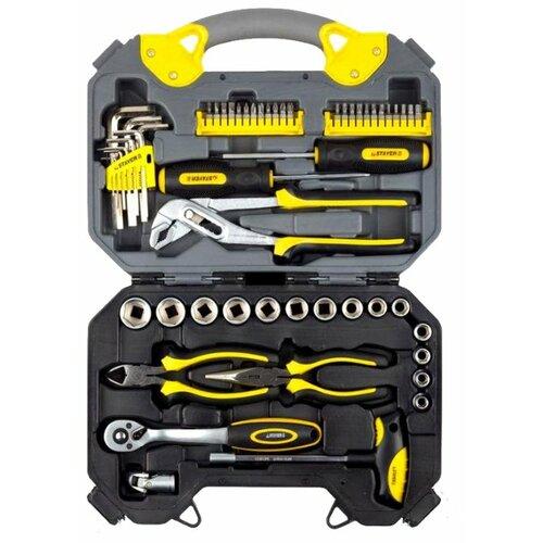 Набор инструментов STAYER (56 предм.) 27710-H56 желтый