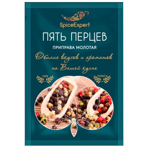 SpicExpert Приправа Пять перцев молотая 15 г приправа смесь перцев spice master 670 г