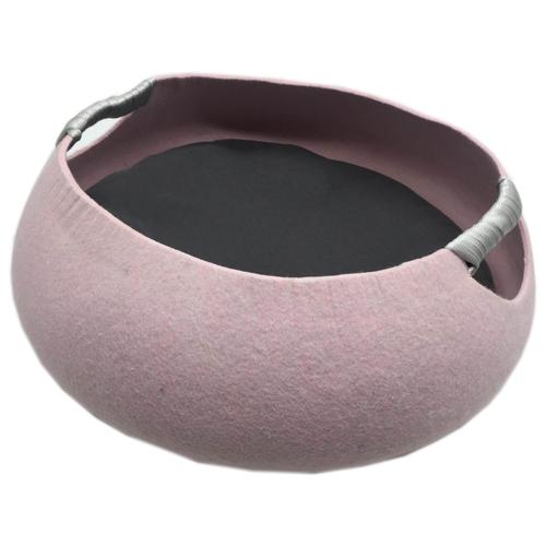 Лежак для кошек Fauna International Matis S 40х40х17 см розовый
