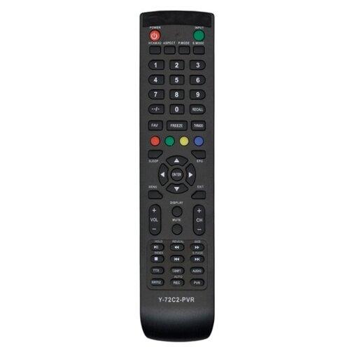 Пульт ДУ Huayu Y-72C2-PVR для телевизоров Supra STV-lC19T550WL/STV-lC19T551WL/STV-lC22T550FL/STV-lC22T551FL/STV-lC24T560FL/STV-lC32LT0040W черный