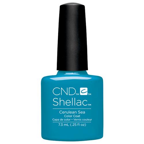 Купить Гель-лак для ногтей CND Shellac Paradise, 7.3 мл, Cerulean Sea