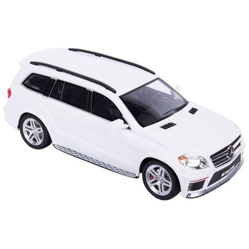 Легковой автомобиль GK Racer Series Mercedes Benz GL550 (866-1820) 1:18 24 см белый автомобиль на радиоуправлении kidztech mini racer
