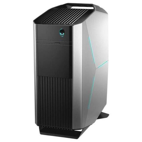 Настольный компьютер DELL Alienware Aurora R8 (R8-9072) Midi-Tower/Intel Core i7-8700/16 ГБ/256 ГБ SSD/2000 ГБ HDD/NVIDIA GeForce GTX 1070/Windows 10 Home черный/серебристый