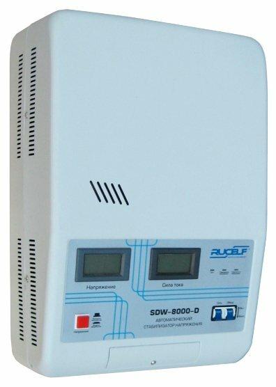 Стабилизатор напряжения однофазный RUCELF SDW-8000-D