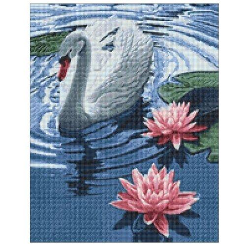 Купить Гранни Набор алмазной вышивки Принцесса-лебедь (Ag 393) 38х48 см, Алмазная вышивка