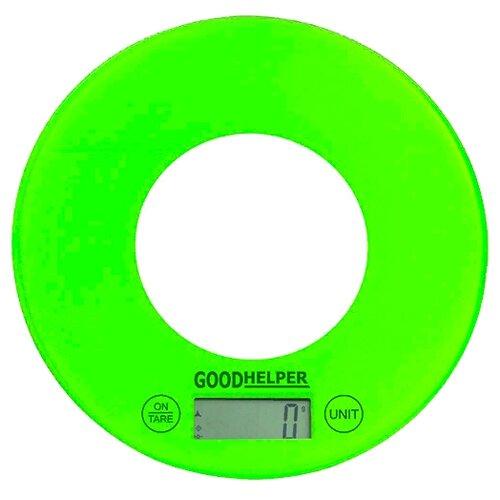 Кухонные весы Goodhelper KS-S03 зеленый кухонные весы eltron el 9259 зеленый