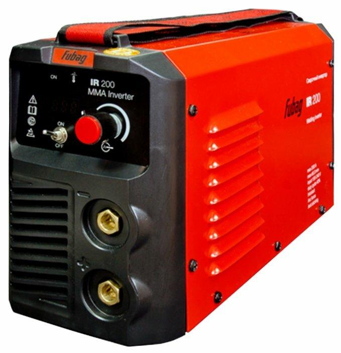 Сварочный аппарат Fubag IR 200 VRD (MMA)