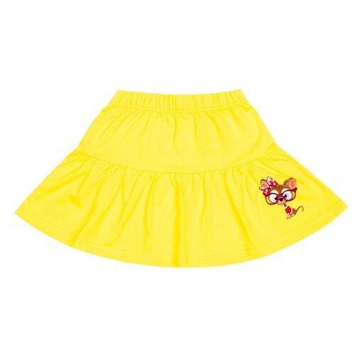 Юбка Апрель размер 98, желтый апрель сарафан апрель для девочки