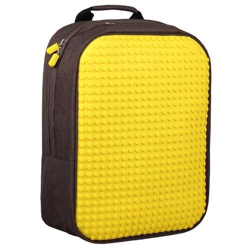 Фото - Upixel Рюкзак Canvas Classic Pixel Backpack (WY-A001), желтый upixel рюкзак canvas classic pixel backpack wy a001 желтый