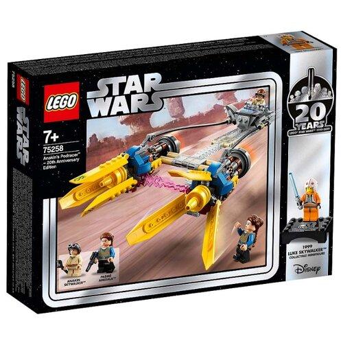 Купить Конструктор LEGO Star Wars 75258 Гоночный под Энакина: выпуск к 20-летнему юбилею, Конструкторы