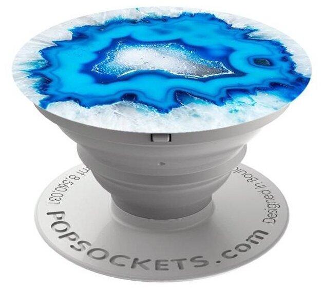 Поп-сокет PopSockets 101447 Ice Blue Agate фото 1