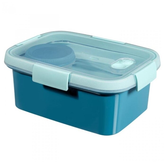 CURVER Набор для ланча TO GO KIT 1.2 л голубой