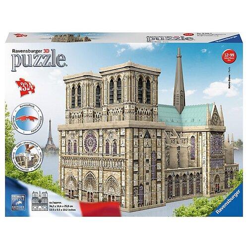 Купить 3D-пазл Ravensburger Нотр Дам , 216 эл. (12523), Пазлы