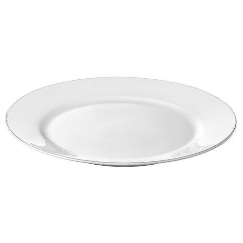 Тарелка обеденная Esprado Alpino 22,5 см, костяной фарфор, набор 5 шт.,ALP023WE308