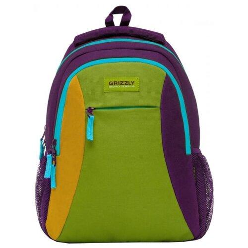 цена на Рюкзак Grizzly RD-833-2 14 фиолетовый