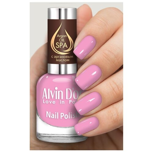 Лак Alvin D'or SPA Argan Oil, 15 мл, оттенок 5032 лак alvin d or spa argan oil 15 мл оттенок 5036