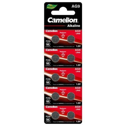 Фото - Батарейка Camelion AG9, 10 шт. батарейка camelion lr23a 1 шт
