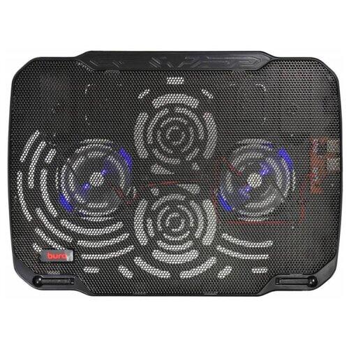 Фото - Подставка для ноутбука Buro BU-LCP156-B208, черный подставка для ноутбука 15 6 buro bu lcp156 b214 металл пластик 1000об мин 22db черный