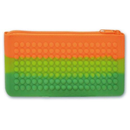 Купить Феникс+ Пенал-косметичка Радуга зелено-оранжевый, Пеналы