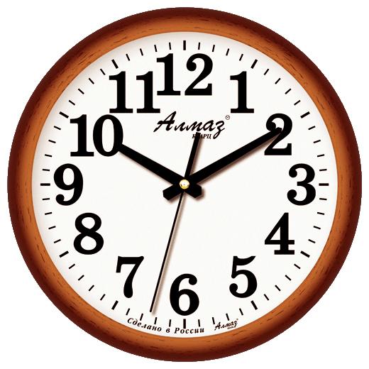 Часы настенные кварцевые Алмаз B15/B16