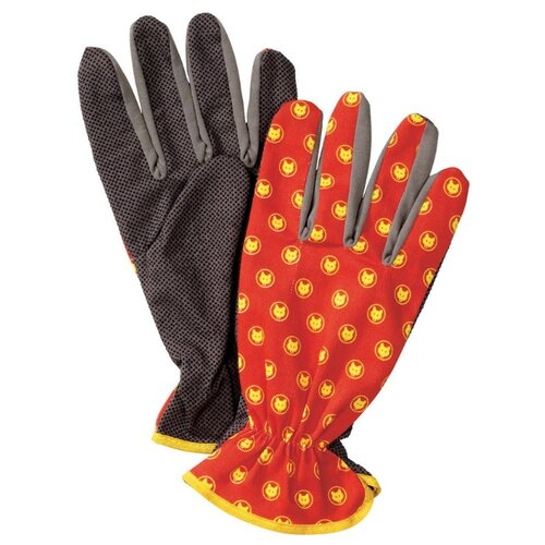 Перчатки WOLF-Garten GH-BA10 7760013 2 шт. красный/серый