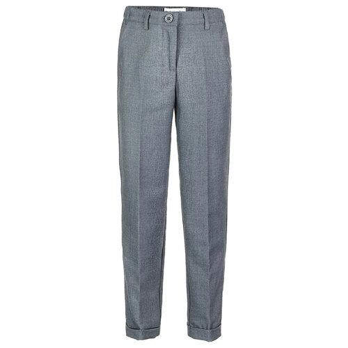 Купить Брюки Button Blue 219BBGS6301 размер 122, серый