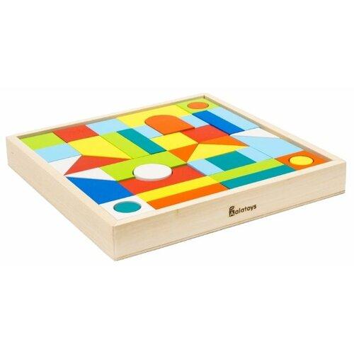 Купить Кубики Alatoys Городок К2401, Детские кубики