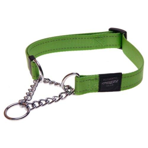 Ошейник-удавка Rogz Utility L (HC06) 34-56 см зеленый