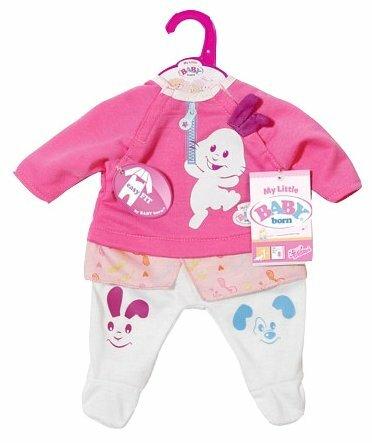 Zapf Creation Комплект одежды для куклы My Little Baby Born 824351