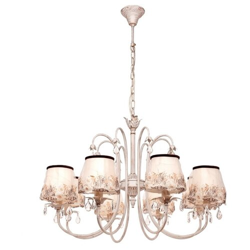 Люстра Silver Light Laura 718.51.8, E14, 480 Вт hesion hs01003 e14 3w 270lm 3000k 3 led warm white candle light ac 85 265v