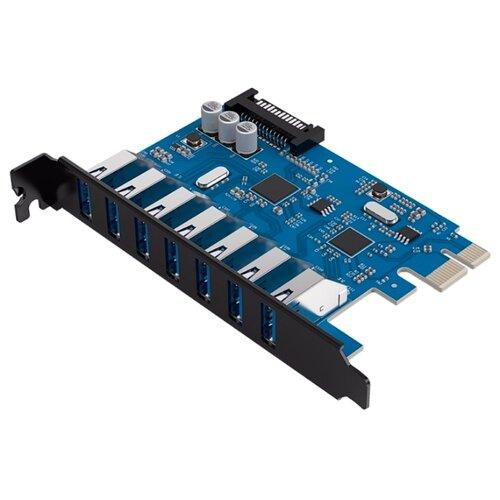 USB 3.1 Gen1 контроллер ORICO PVU3-7U черный