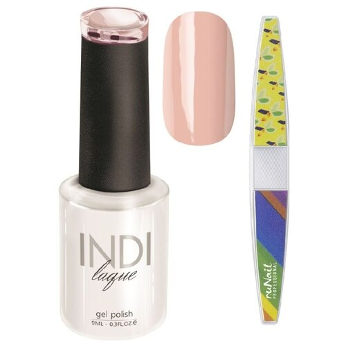 Набор для маникюра Runail пилка для ногтей и гель-лак INDI laque 3341Гель-лак<br>