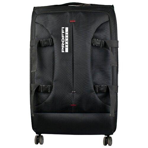 Фото - Чемодан PROFFI KingSize XL 110 л, черный чемодан proffi kingsize xl 110 л черный