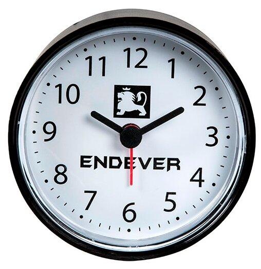 e2d5894c Часы настольные ENDEVER RealTime-22/ 23 черный / белый