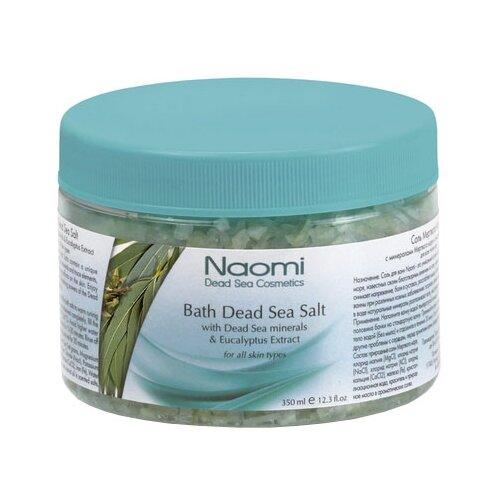 Naomi Соль Мертвого моря с экстрактом эвкалипта, 350 мл