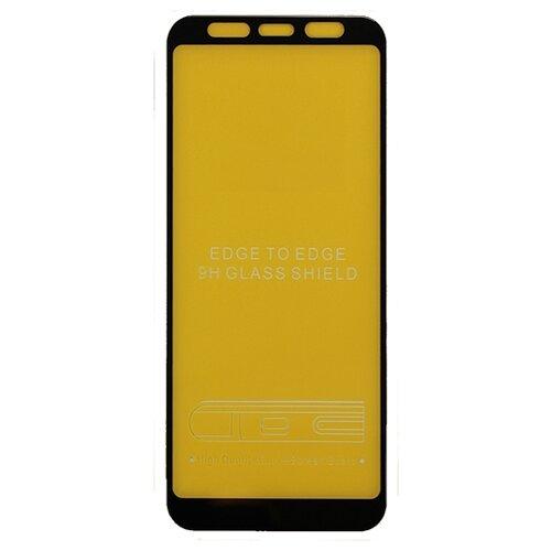 Защитное стекло Volare Rosso Fullscreen full glue для Samsung Galaxy J6 Plus черныйЗащитные пленки и стекла<br>