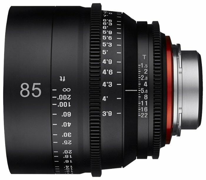 Объектив Xeen 85mm T1.5 Micro 4/3 (XN85-MFT)