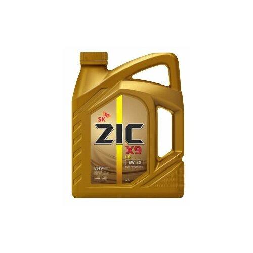 Моторное масло ZIC X9 LS 5W-30 4 л моторное масло zic x7 ls 5w 30 4 л