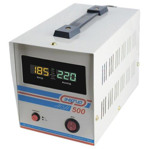 Стабилизатор напряжения однофазный Энергия ACH 500 (2019) серый