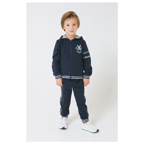 Купить Комплект одежды crockid размер 140, индиго, Комплекты и форма