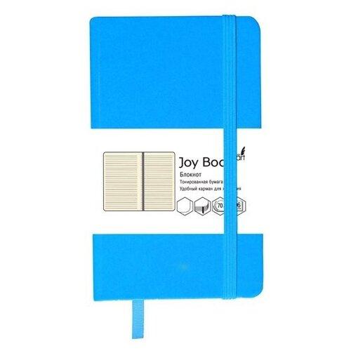 Купить Блокнот Канц-Эксмо Joy Book. Лазурно-голубой А5, 96 листов (БДБЛ5962226), Блокноты